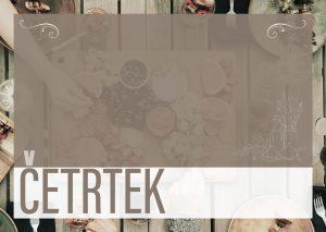 Read more about the article ČETRTEK, 16.9. 2021