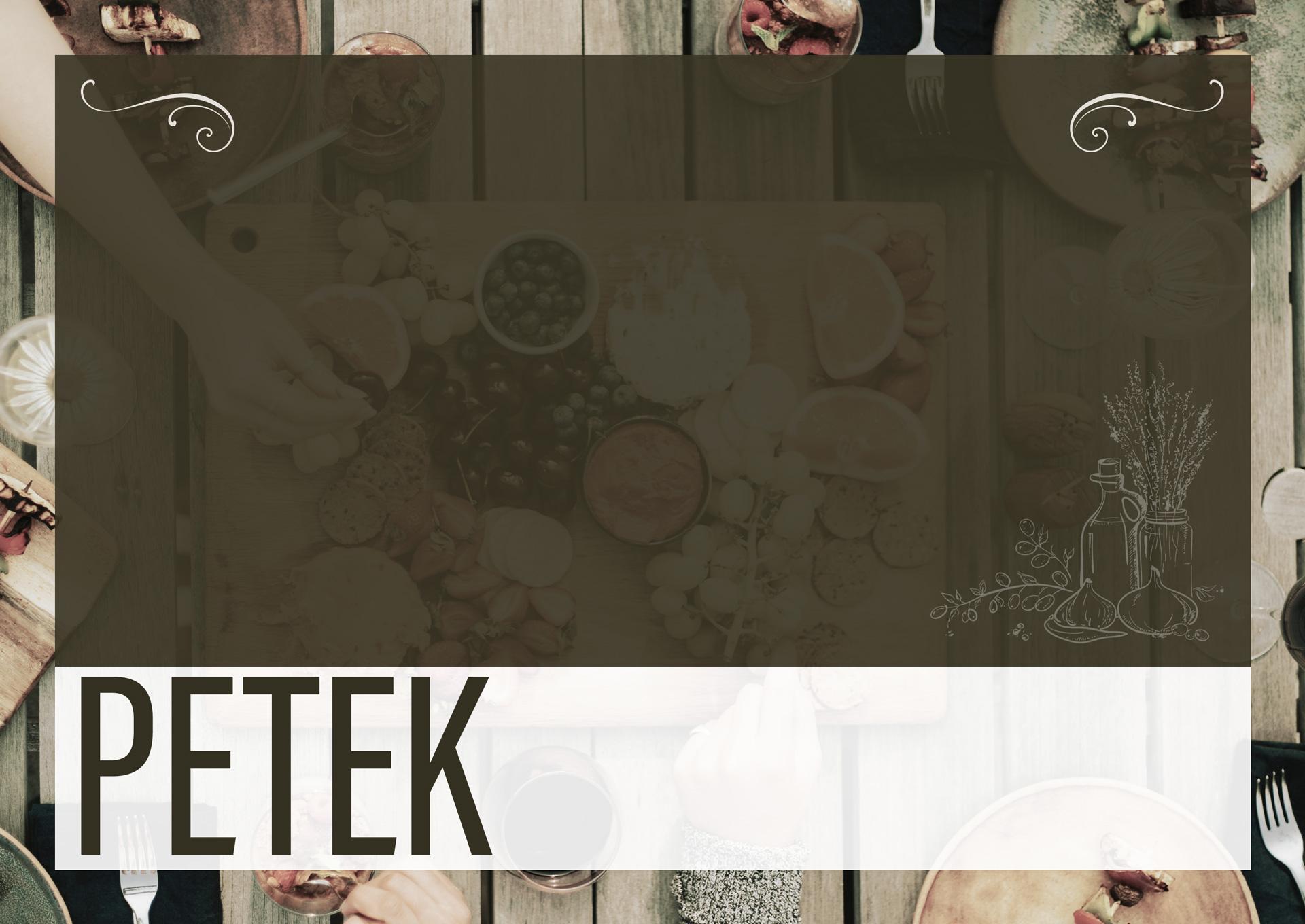 PETEK – 5.6.2020